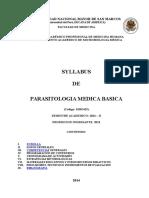 Syllabus PMB 2014