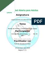 Tarea II Lengua Española en Educación Básica II