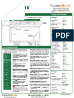 Excel 2016 Cheat Sheet Es