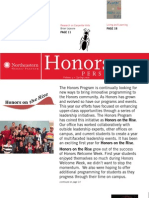 NU Honors Newsletter Spring 2010