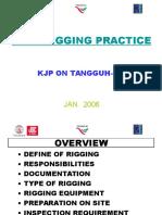 Safe Rigging Practice