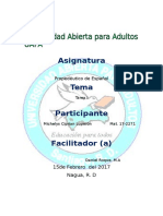 Reporte 2 de Propedeutico de Español