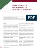 ESTRATEGIAS PARA MEJORAR LA VISUALIZACIÓN DE LESIONES EN PACIENTES CON EPILEPSIA REFRACTARIA