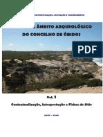 ESTUDO DE ÂMBITO ARQUEOLÓGICO DO CONCELHO DE ÓBIDOS