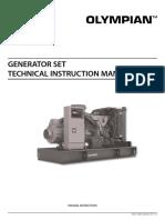 Olympian International Diesel Genset Technical Manual   Personal