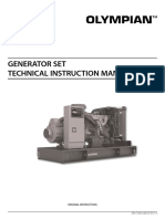 Olympian International Diesel Genset Technical Manual