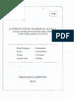 Lun 1 Lampung 2016 Paket 2