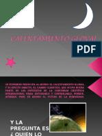 CALENTAMIENTO GLOVAL