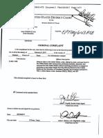 Criminal Complaint Feb. 9, 2017