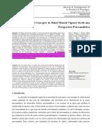 Concepto de Salud Mental 2015-1-1