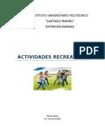 Actividad 6 - Actividades Recreativas