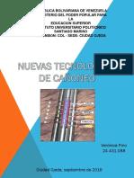 Nuevas Tecnologias en Cañoneo