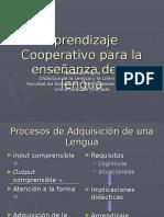 aprendizaje cooperativo en la enseñanza de la lengua