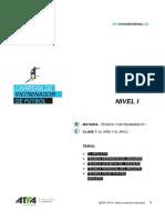 Técnica y Entrenamiento I v 12 Clase 7