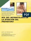 Rol Del Neonatologo en Rop