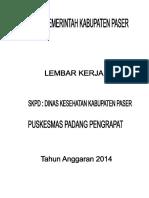 Cover Lk Tahun Anggaran 2014