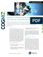 Mobility in Field Services Management