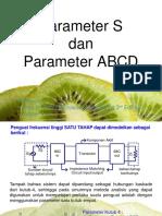 4a Parameter S Dan Parameter ABCD