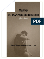 Ways to manage Depression