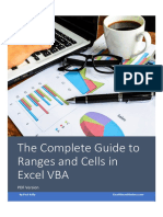 The Complete Guide to Ranges and Cells in Excel Vba