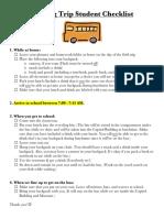 lansing stdt  checklist