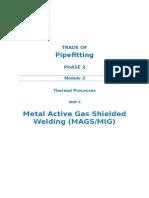M2_U4_Metal Active Gas Shielded Welding