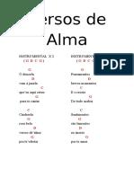 Versos de Alma_texto