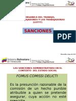 PRESENTACION+SANCIONES+LOTTT