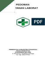 PEDOMAN LABORATORIUM PUSKESMAS BALONG NEW.doc