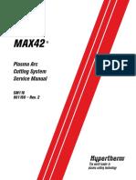 Max 42 Plasma Cutter Service Manual