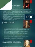 Exposicion,Nicolas Maquiavelo