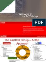 karROX Technologies - A Global IT Training Organization - Corporate Overview