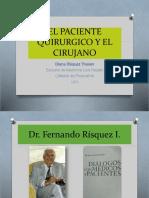 2 - El Paciente Quirurgico Presentacion 51 Slides