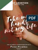 take my handsnot my life