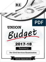 Union Budget 2017 18