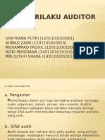 Pola Perilaku Auditor