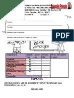 ExamenDiagnostico6toEP Para Imprimir