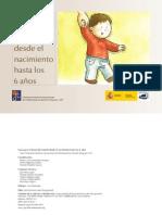 Guía del desarrollo infantil desde el nacimiento hasta los 6 años