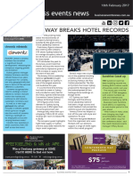 Business Events News for Thu 16 Feb 2017 - Amway breaks hotel records, cievents rebrands, Sunshine Coast up, Eventhouse brand launch, EEAA breakfast and more