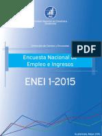 Resultados Encuesta Nacional de Empleo e Ingresos