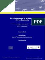 Estudio de Mapeo de la Sociedad Civil en Guatemala