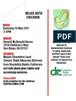 undiagnosed family support group may 2017