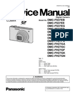 Panasonic Dmc-fh27pu Vol 1 Service Manual