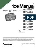 Panasonic Dmc-fz100pu Service Manual