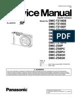 Panasonic Dmc-zs8 Vol 2 Service Manual