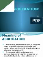 Arbitration (1)