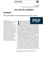 Financialization and the Capitalist Moment Marx Versus Weber