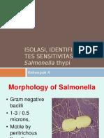 Isolasi, Identifikasi Dan Tes Sensitivitas Salmonella Sp.pptx