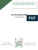 Enonces Cas Eurotunnel 2000