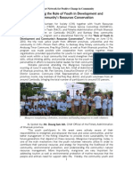 News on Youth Action in Natural Resource Management-English